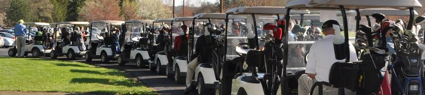 Alumni Golf Banner